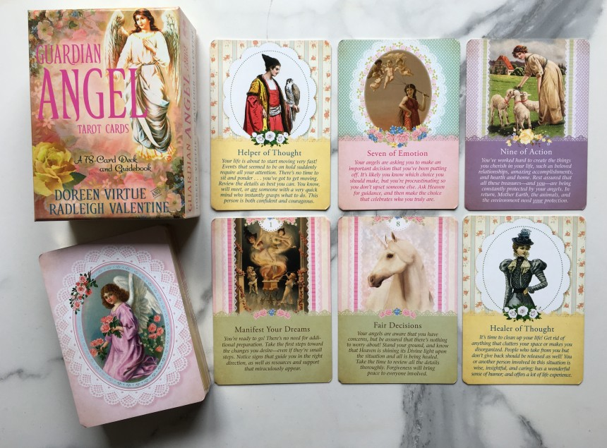 Guardian Angel Tarot Cards A 78-Card Deck And Guidebook By Doreen Virtue